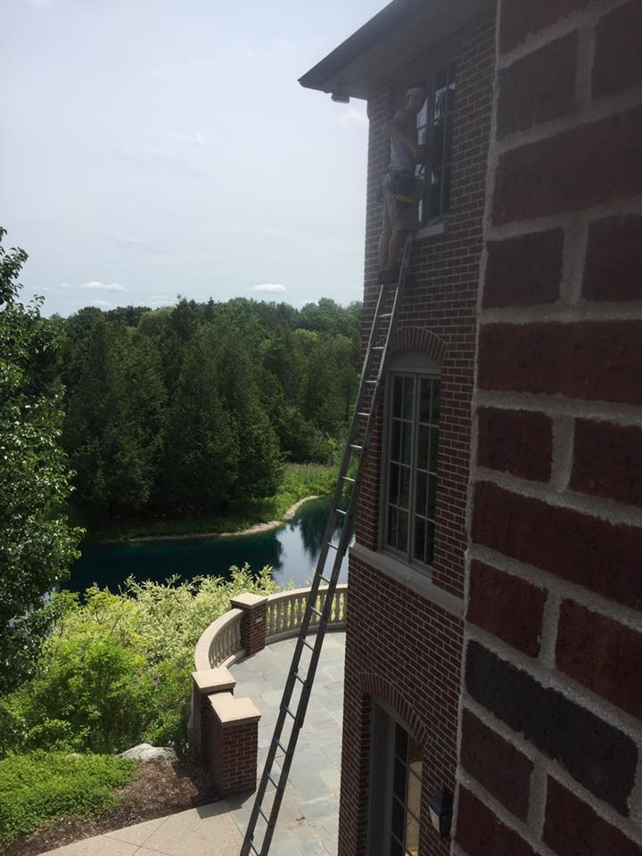 Tall Window Cleaning In Mi
