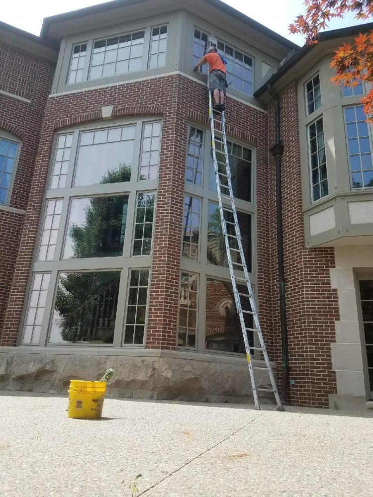 Tall Window Cleaning Michigan